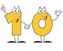 number-ten-cartoon-character-with-text-eps-vectors_csp9376003